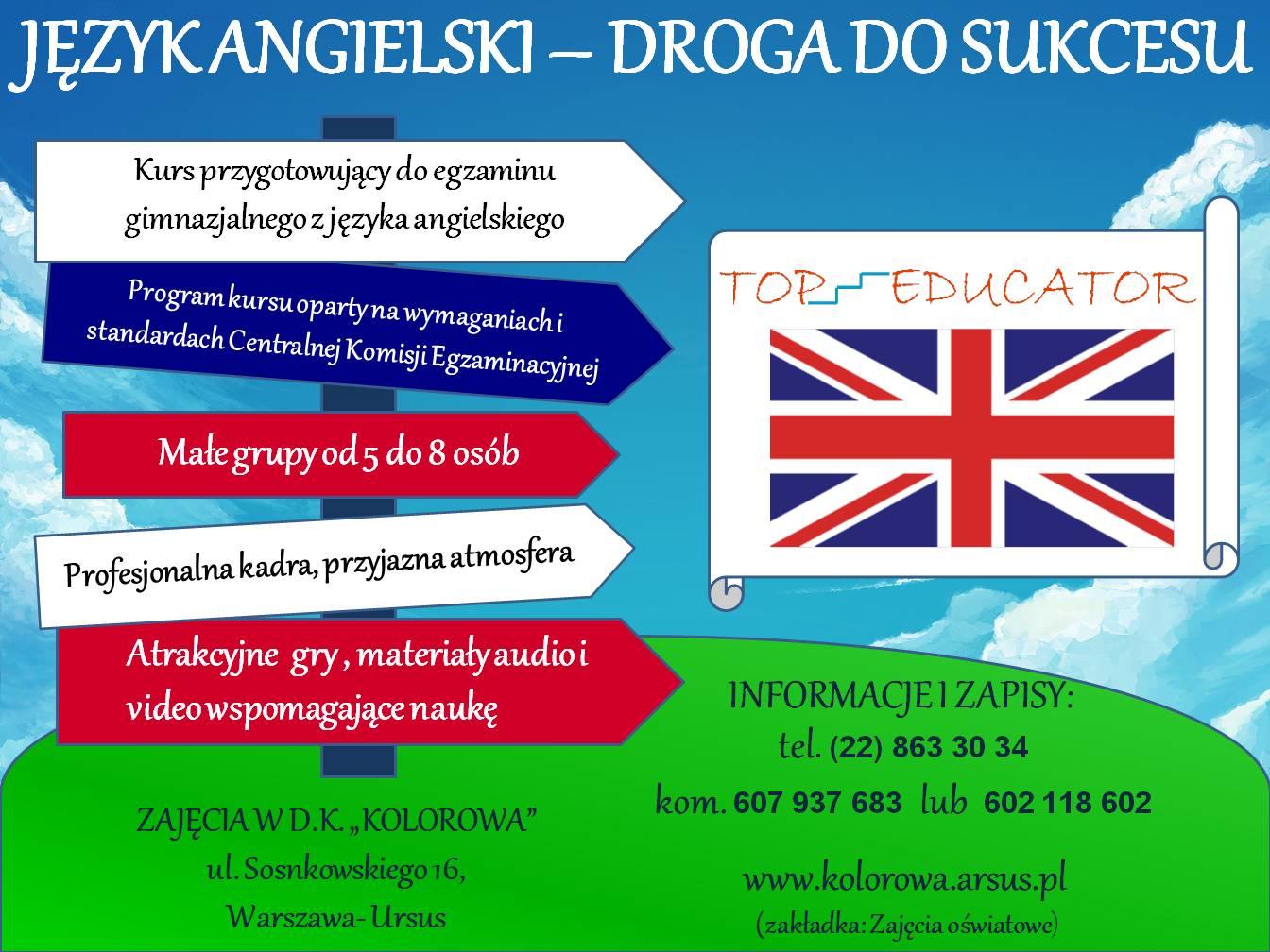 Kurs Przygotowujący Do Egzaminu Gimnazjalnego Z Języka