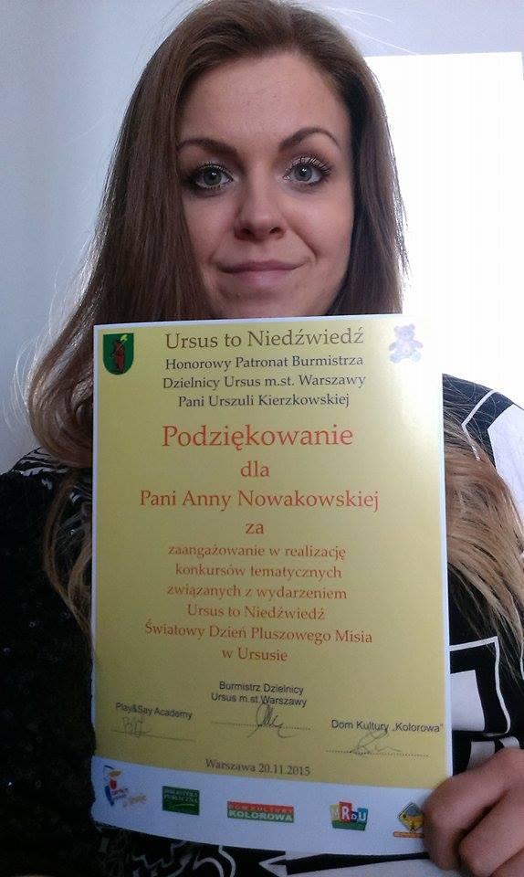 zdjęcie z dyplomem